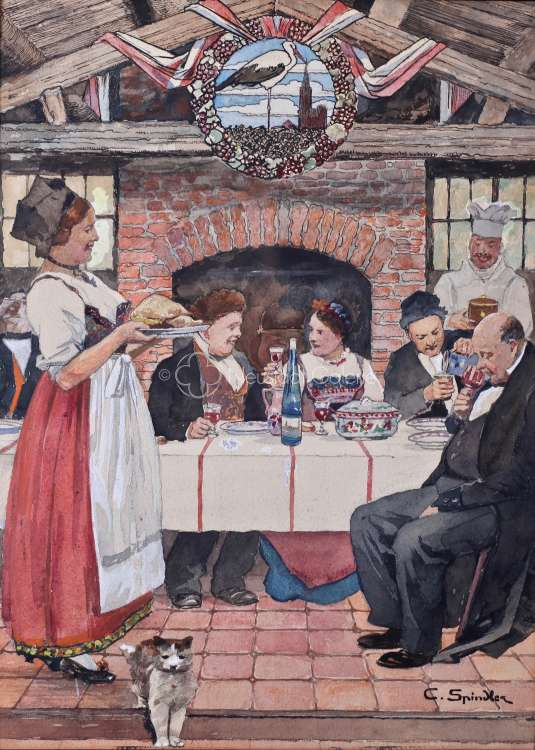 Charles Spindler - L Alsace à table