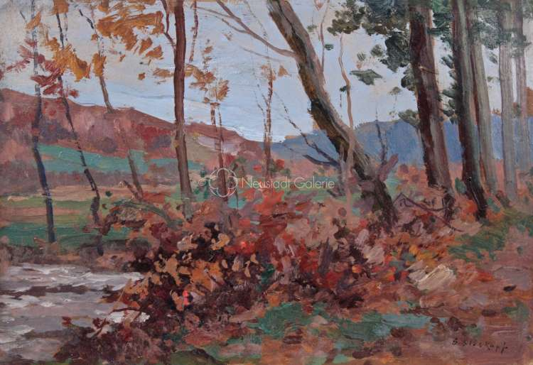 Gustave Stoskopf - Paysage d automne